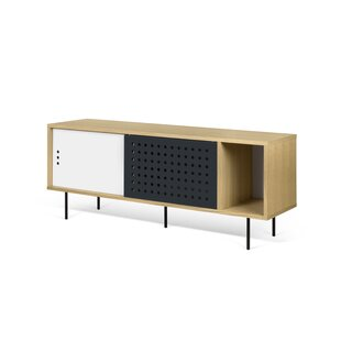 Garry LED Stripes Sideboard by Corrigan Studio