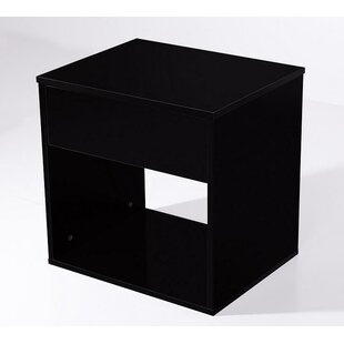 Orren Ellis Massey Bedside 1 Drawer Nightstand