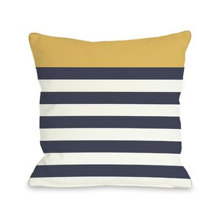 Nautical Stripes Pillow