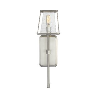 Affordable Price Hayslett 1-Light Wallchiere By Latitude Run