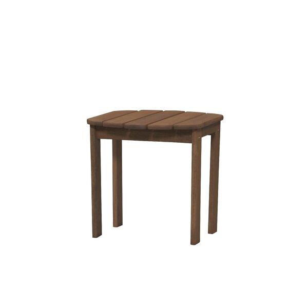 Beachcrest Home Medford Teak Side Table U0026 Reviews | Wayfair