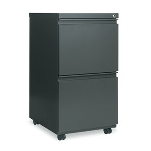 Alera� 2 Drawer Mobile Pedestal File Cabi..