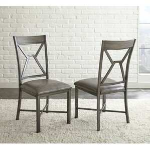 Ruggerio Back Side Chair (Set of 2) by Laurel Foundry Modern Farmhouse