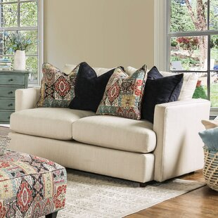 Emory Contemporary Loveseat by Bungalow R..