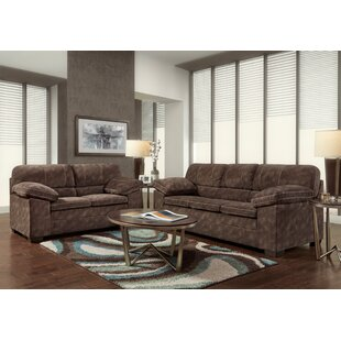 Alcott Hill Anakin 2 Piece Living Room Set