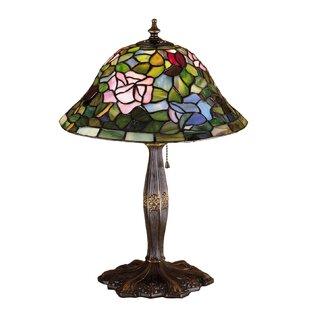 17 High Tiffany Rosebush Table Lamp