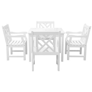Mahler 5 Piece Patio Dining Set