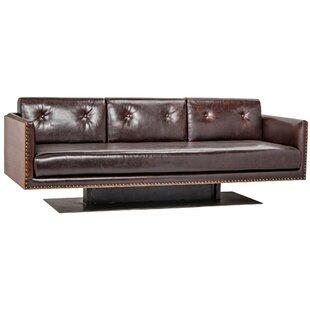 No Copoun Sabah Leather Sofa Noir