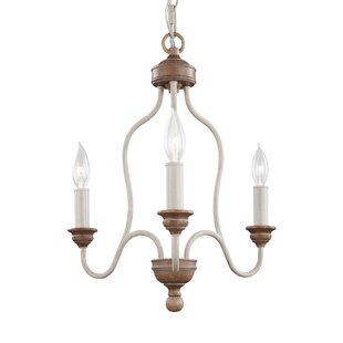 Gracie Oaks Homestown 3-Light Candle Styl..
