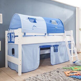 Castile European Single Mid Sleeper Bed With Tunnel By Zoomie Kids