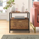 Caroline End Table with Storage by Foundstone™