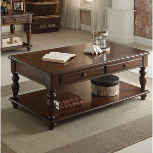 Tamara Coffee Table with Storage Darby Home Co