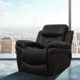 Outstanding Small Black Leather Recliner Wayfair Machost Co Dining Chair Design Ideas Machostcouk