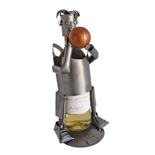 Basketball 1 Bottle Tabletop Wine Rack by..