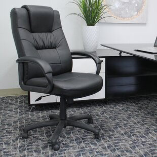 Boss Office Products Leather Executive Chair