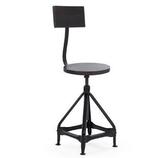Evolution Adjustable Height Swivel Bar Stool