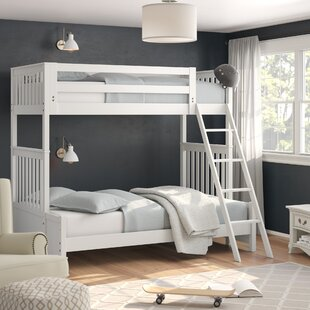 Shop for Maia Bunk Slat Bed with Twin over Twin by Viv + Rae Reviews (2019) & Buyer's Guide
