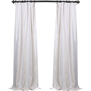forbell solid max blackout thermal rod pocket single curtain panel