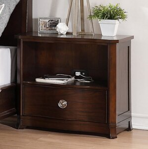 Roane 1 Drawer Nightstand by Bloomsbury Market