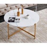 Blakely Cross Legs Coffee Table by Mercer41