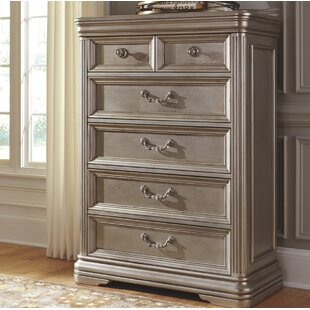 Fleur De Lis Living Goldberg 5 Drawer Chest