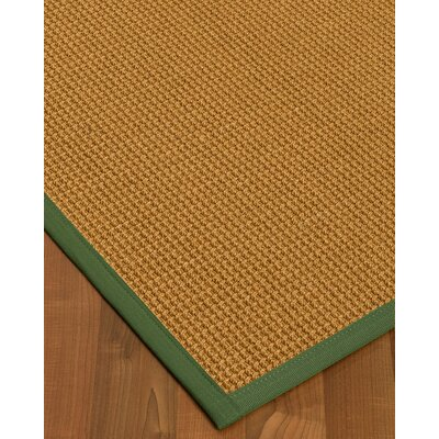 What Size Rug Pad For 8x10 Rug.Aula Border Hand Woven Browngreen Area Rug Bayou Breeze Rug