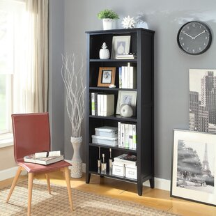 Caspar Large Standard Bookcase by Andover Mills Design