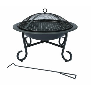 Ransdell Open Bowl Steel Fire Pit By Sol 72 Outdoor