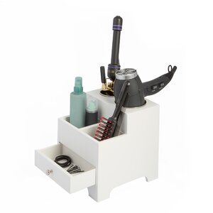 Wendyll Vanity Hair Tool Holder