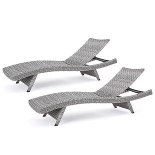 Dunmurry Chaise Lounge (Set of 2)