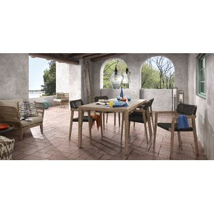 Dining Table Set With 4 Chairs By Ebern Designs