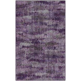 Fosse Plum Vintage Abstract Purple Area Rug