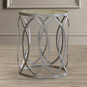 Bellanger Metal End Table by Willa Arlo Interiors