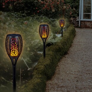 CTG Brands Solar Powered Garden Torch