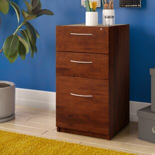 Latitude Run Karyn 3-Drawer Pedestal