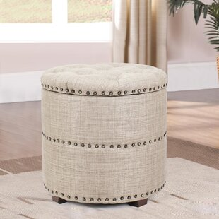 Heathcote Storage Ottoman by Charlton Home