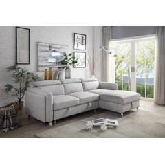 Leather Sleeper Sectionals You Ll Love In 2021 Wayfair