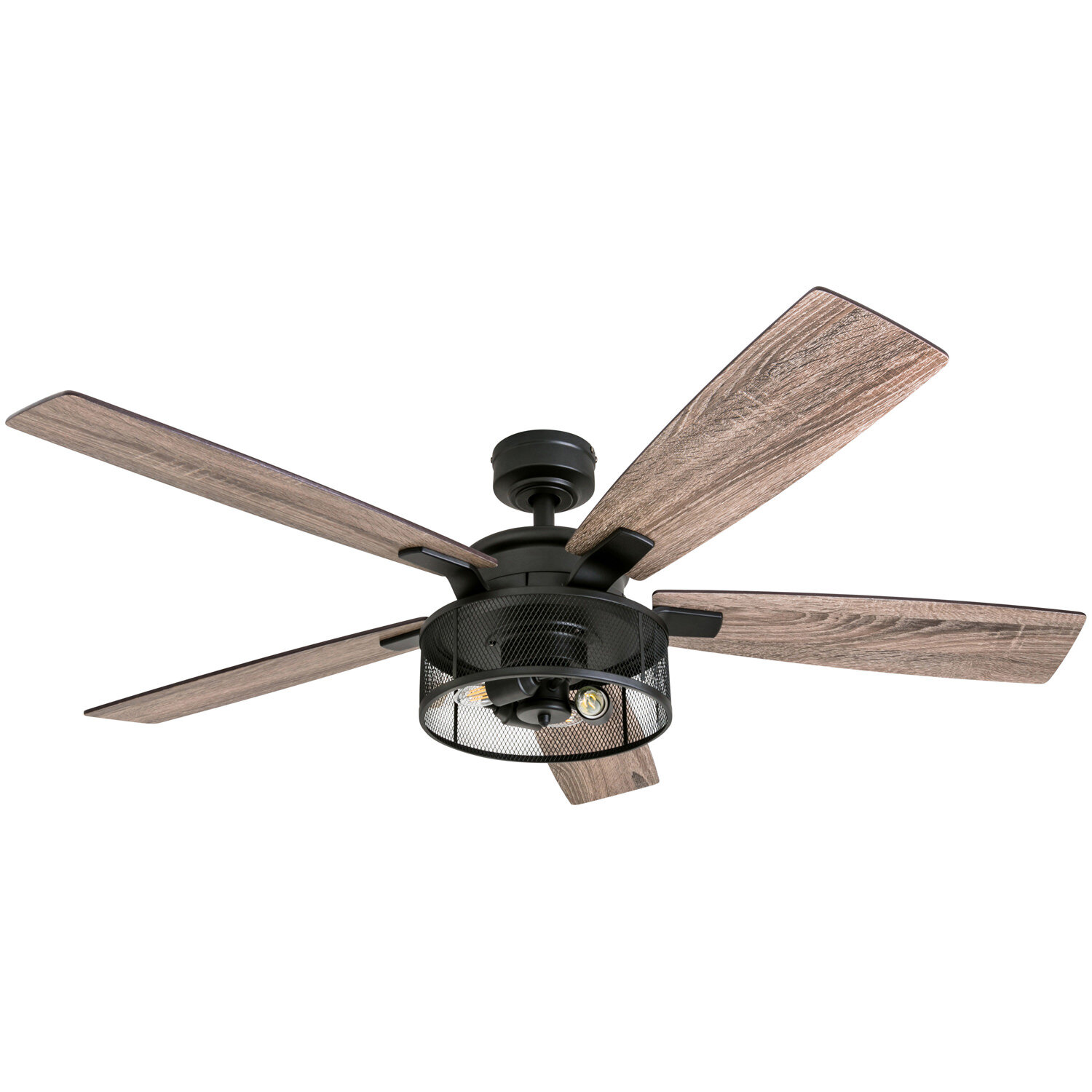 Gracie Oaks 52 Divisadero 5 Blade Standard Ceiling Fan With Remote Control And Light Kit Included Reviews Wayfair
