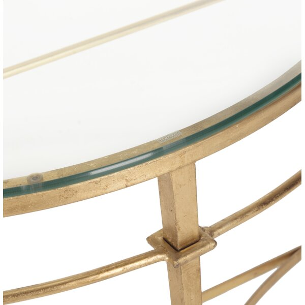 Glass Console Tables Youu0027ll Love | Wayfair