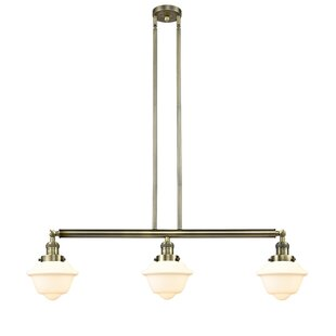 Breakwater Bay Calliope 3-Light Kitchen Island Pendant