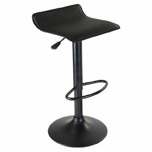 Zipcode Design Avery Adjustable Height Swivel Bar Stool (Set of 2)