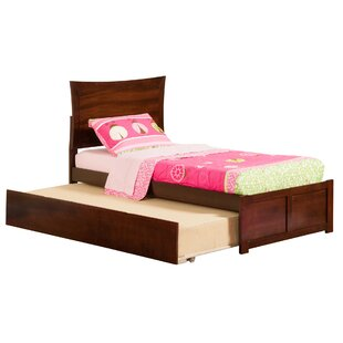 Compare Amy Twin Platform Bed with Trundle ByLatitude Run