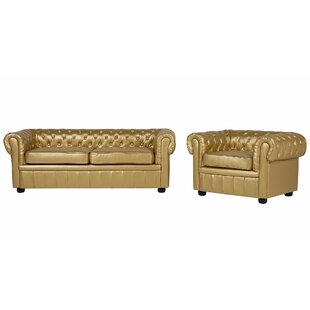 Mejia 2 Piece Living Room Set