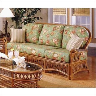 3700 Old World Sofa by South Sea Rattan