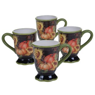 Botanical Harvest Mug (Set of 4)