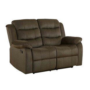Chloé Modern Plush Reclining Loveseat