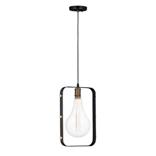 Edgardo 1-Light Bulb Pendant by Williston Forge