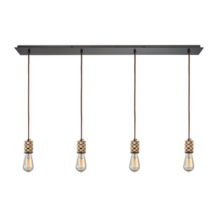 17 Stories Elmira 4-Light Kitchen Island Pendant