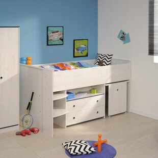 Raffa Midsleeper Twin Bed with Drawers by