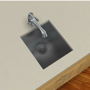Crosstown 16 L x 19 W Undermount Kitchen Sink with Grid and Drain Assembly by Elkay
